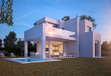 luxury new development of villas in marbella -  Innovative properties  - Costa Del Sol property experts