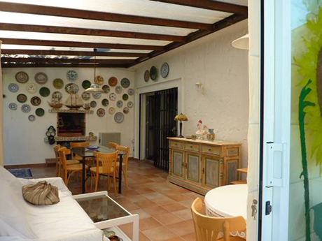 dining room image from Independent villa in Cabopino For sale
