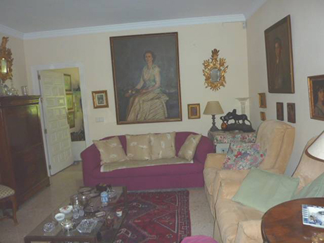 living room Independent villa in Cabopino For sale image
