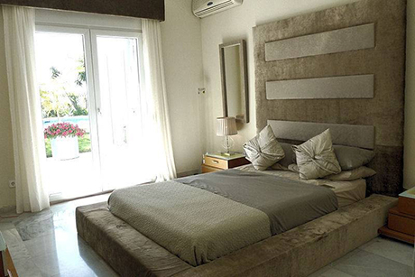 spacious villa in cabopino -  bedroom pic