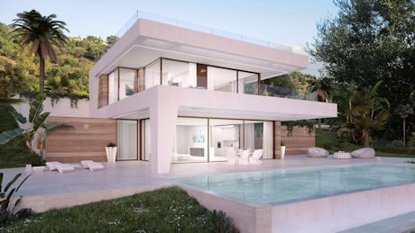 vnew modern villas for sale