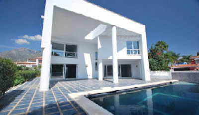 villa golden mile marbella