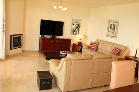Spacious 4 bed 4 bath luxury ground floor apartment | Granados de cabopino living room