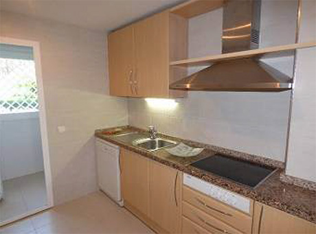 2 bed ground floor apartment for sale | Granados de cabopino kitchen