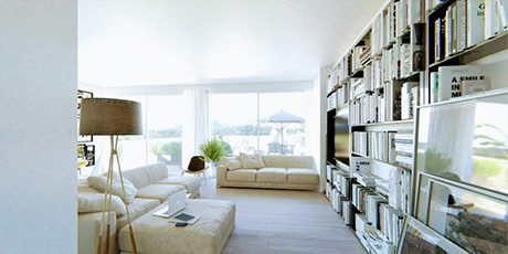 interior image of la cala penthouses and apartments new development