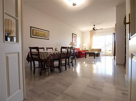 Ground floor apartment for sale las mimosas del golf cabopino dining room