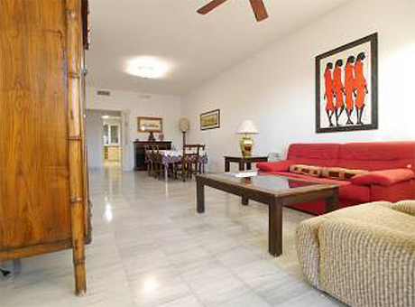 Ground floor apartment for sale las mimosas del golf cabopino living room pic
