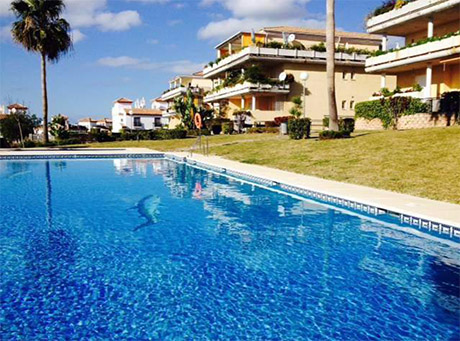 Ground floor apartment for sale las mimosas del golf cabopino outside