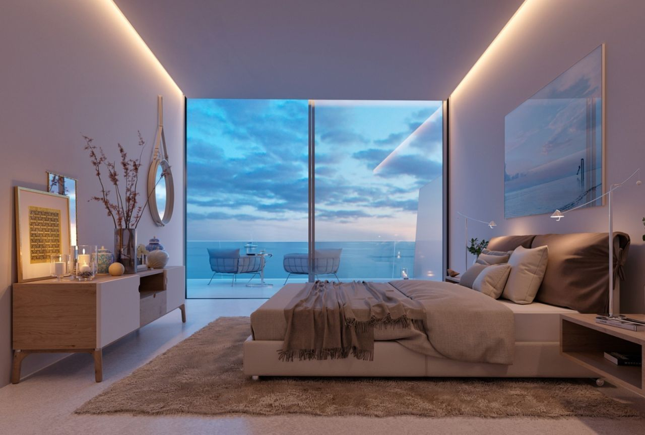 bedroom image Amazing residential development Estepona with exceptional sea views - Costa del Sol New Developments