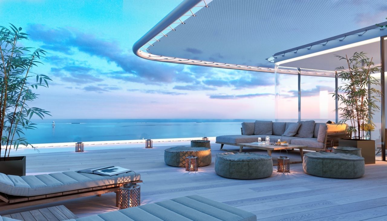 image of big terrace Amazing residential development Estepona with exceptional sea views - Costa del Sol New Developments