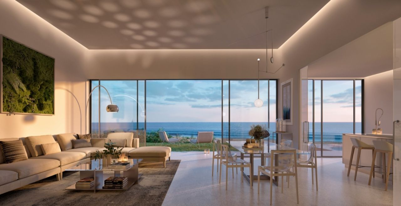 image of living room Amazing residential development Estepona with exceptional sea views - Costa del Sol New Developments