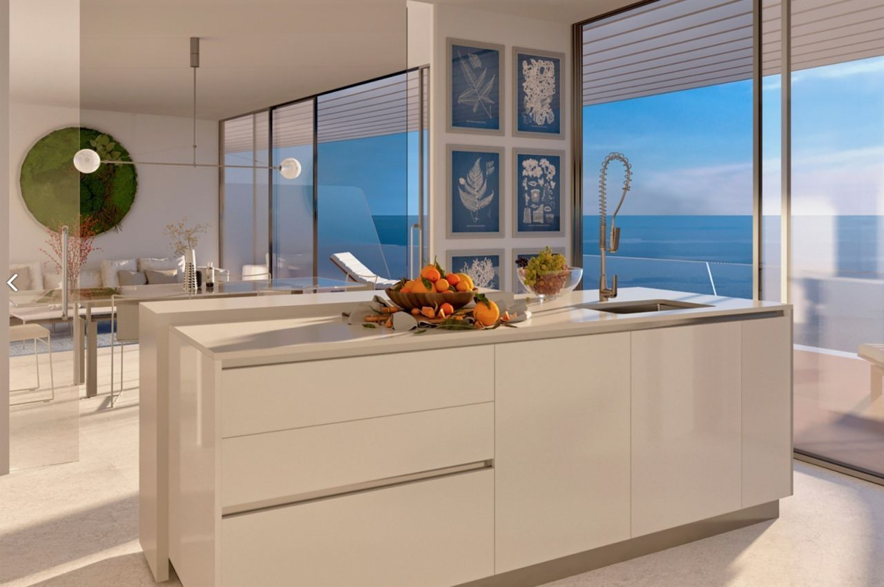 kitchen image Amazing residential development Estepona with exceptional sea views - Costa del Sol New Developments