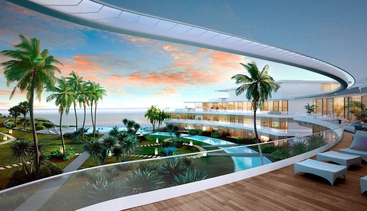 terraces image Amazing residential development Estepona with exceptional sea views - Costa del Sol New Developments