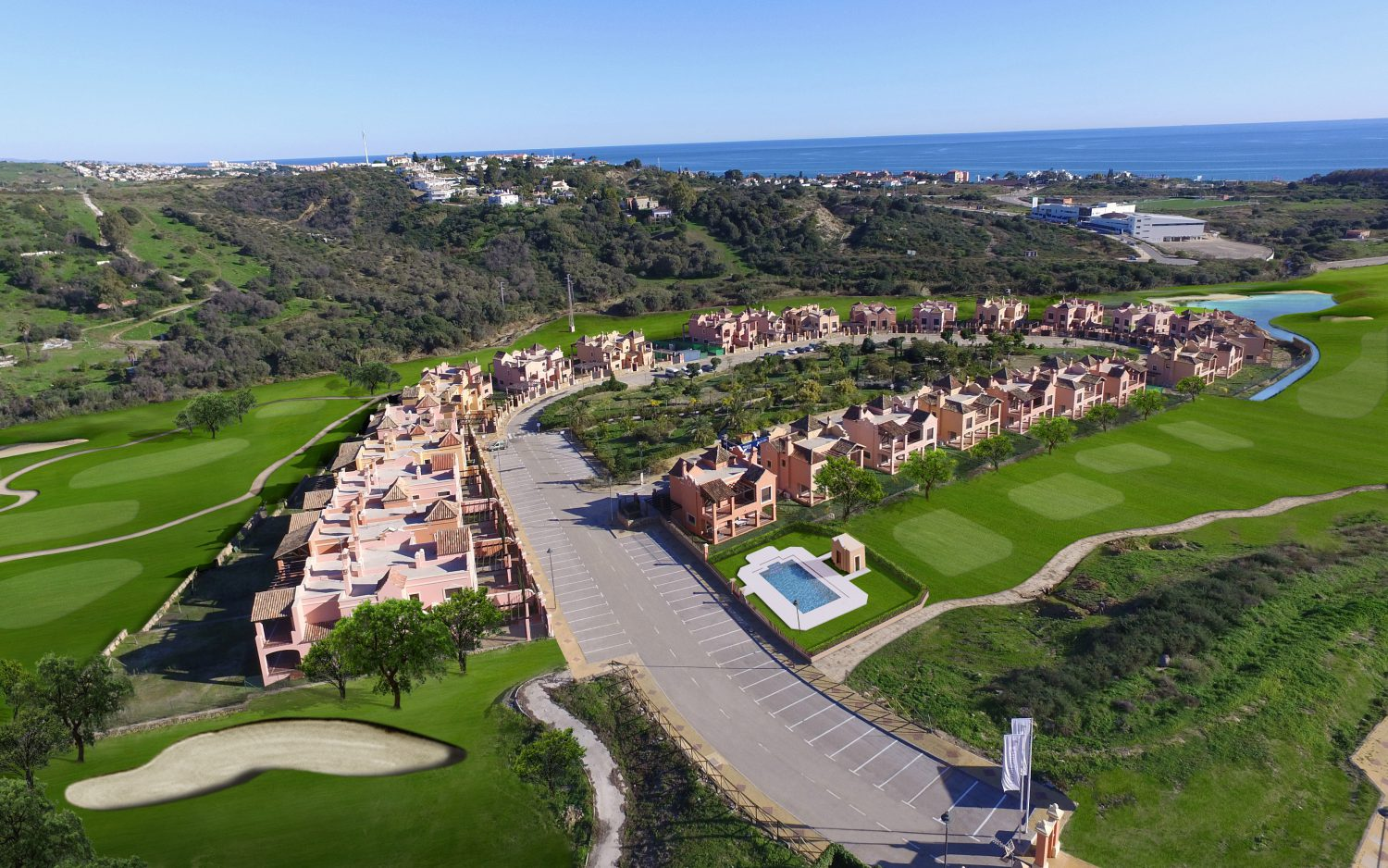 main image of  new golf villas near Marbella