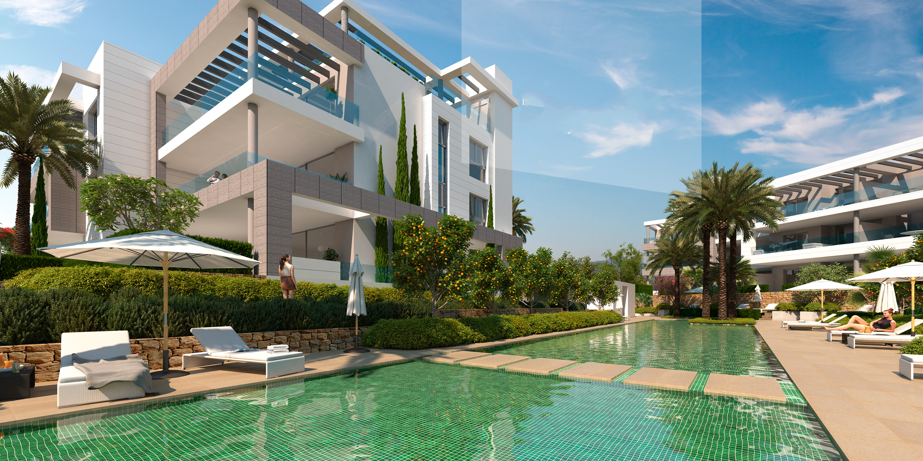 New Modern Style Apartments And Penthouses In A Luxurious Environment In  Marbella.