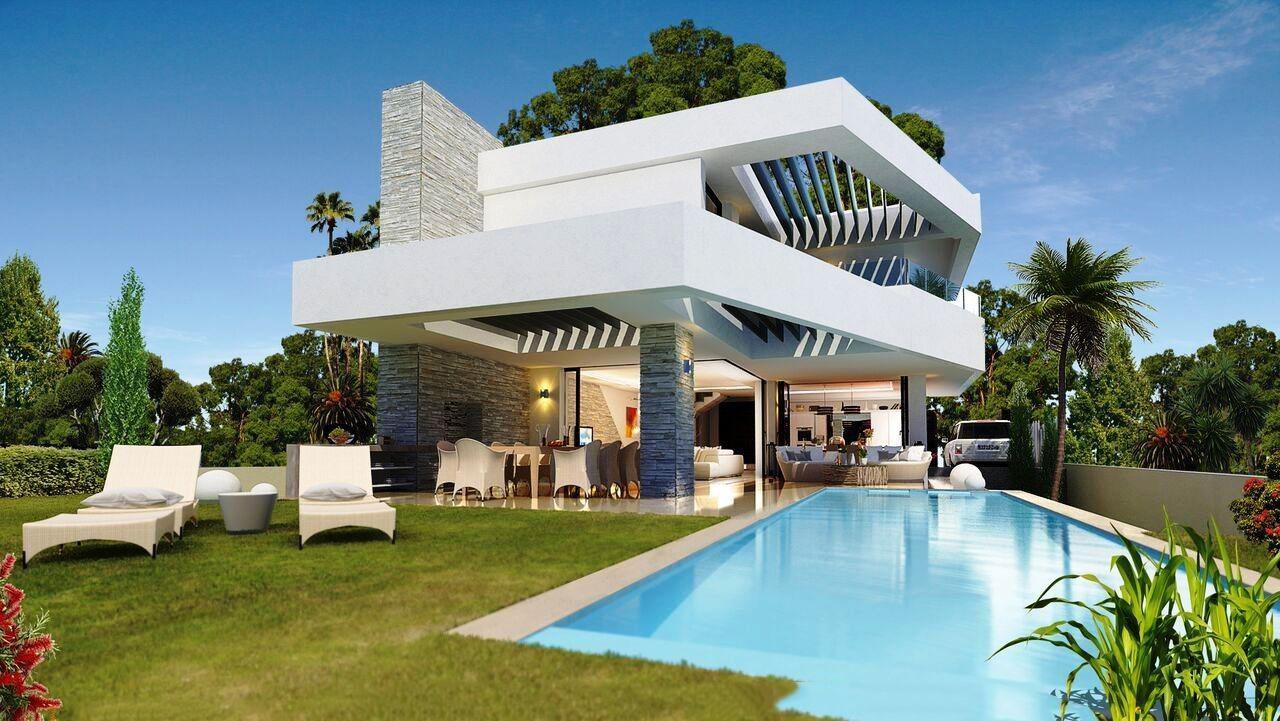 Luxury style modern villas marbella - Ambience home design marbella ...
