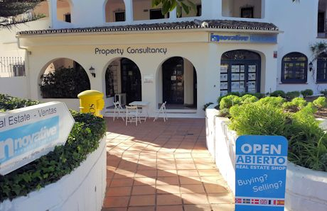 open sign -  innovative properties in costa del sol