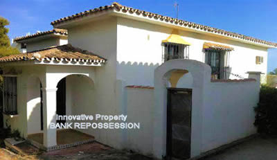 villa from bank calahonda - distressed property spain