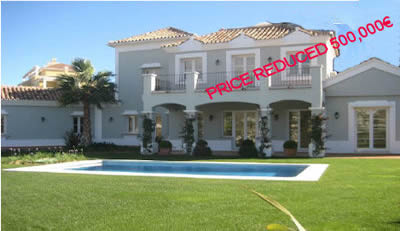 villas for sale marbella - distressed property spain