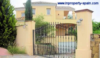 villa from bank marbella - distressed property spain