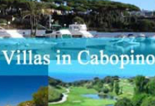 search from hundreds of villas cabopino