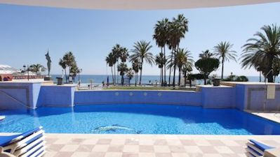 beach side marbella - distressed property spain